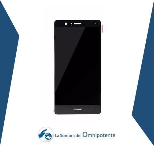 pantalla lcd + mica tactil huawei p9 lite negra tienda fisic