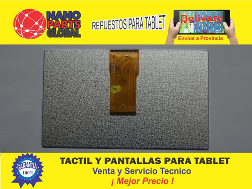 pantalla lcd tablet hd aoc repuesto 7 pulgadas neuimage