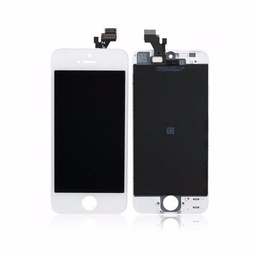 pantalla lcd + tactil digitizer  iphone 5g original blanco