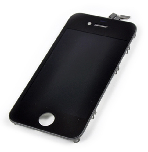 pantalla lcd + tactil  iphone 4s 4gs mica a1431 a1387 negra