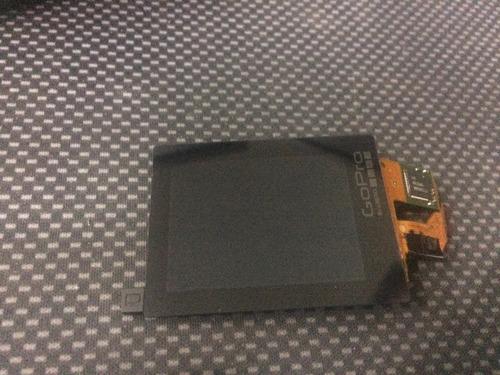 pantalla lcd tactil repuesto arreglo gopro hero 4 silver