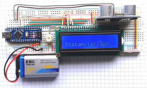 pantalla lcd20x4 lcd 20x4 hd44780 fondo azul tutoria arduino