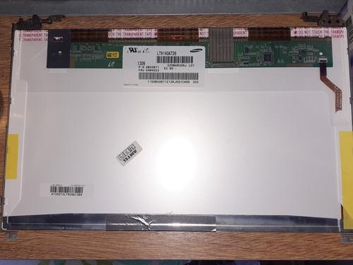 pantalla led 14 samsung ltn140at26 para notebook 40 pines.