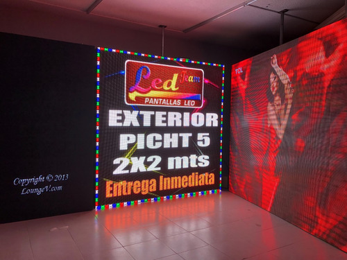pantalla led exterior picht 5 2x2 meses sin intereses