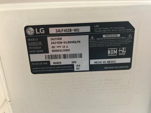 pantalla led lg, 24  color blanco