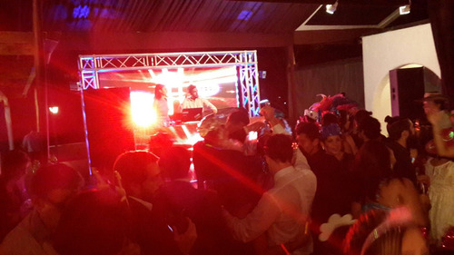 pantalla led para eventos, dj booth, stand.orquestas, ferias