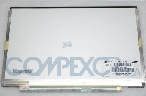 pantalla led para laptop dell toshiba   13,3  slim