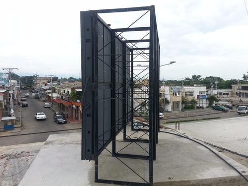pantalla led publicitaria gigante p16 6 mts interior exterio