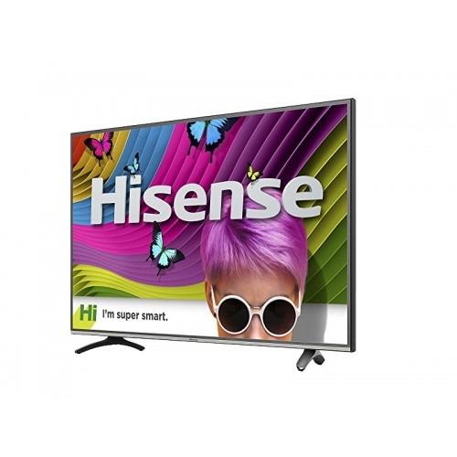pantalla led smart tv 43  4k 60hz hisense refurbished