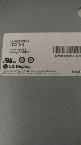 pantalla lg lc470wug  (sc) (a1) cambio sin cargo