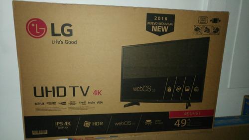 pantalla lg smart tv 4k 49  uhd tv