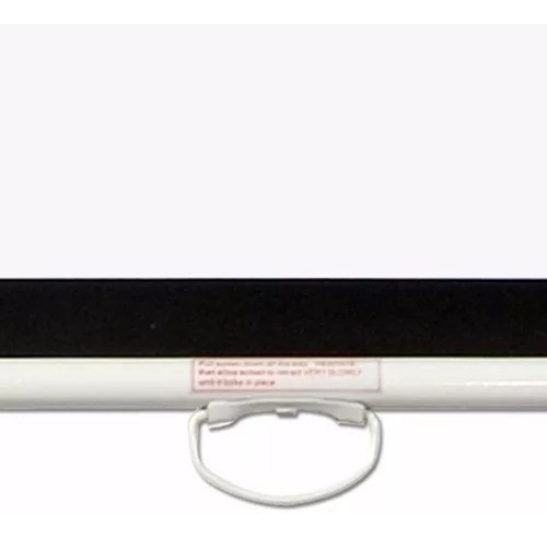 pantalla loch proyector 150 pulgadas manual 4:3 pared techo