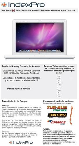 pantalla macbook ! consulta tu modelo