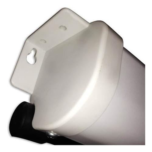pantalla manual 150 proyector 4:3 pared techo vision elite