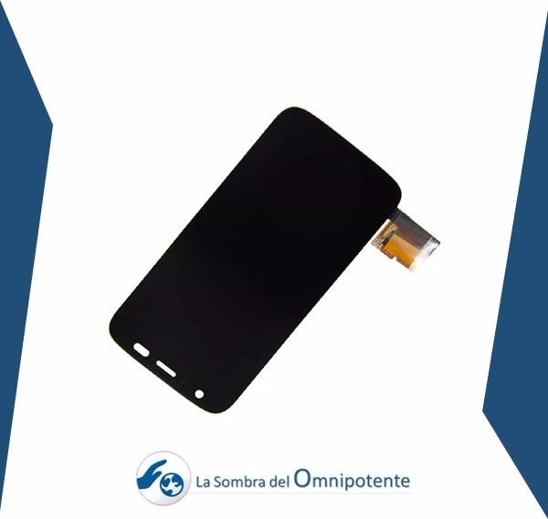 Pantalla + Marco Motorola G1 Xt1032 Xt1028 Xt1036 33/40 - Bs ...