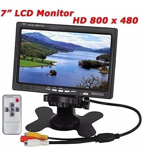 pantalla monitor color tft lcd 7  pulgadas hd 800 x 480