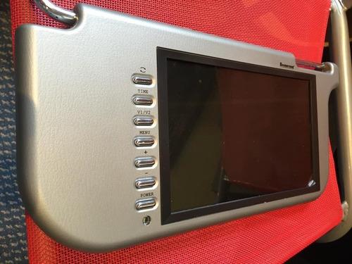 pantalla monitor parasol de 9 pulgadas (lado izquierdo)
