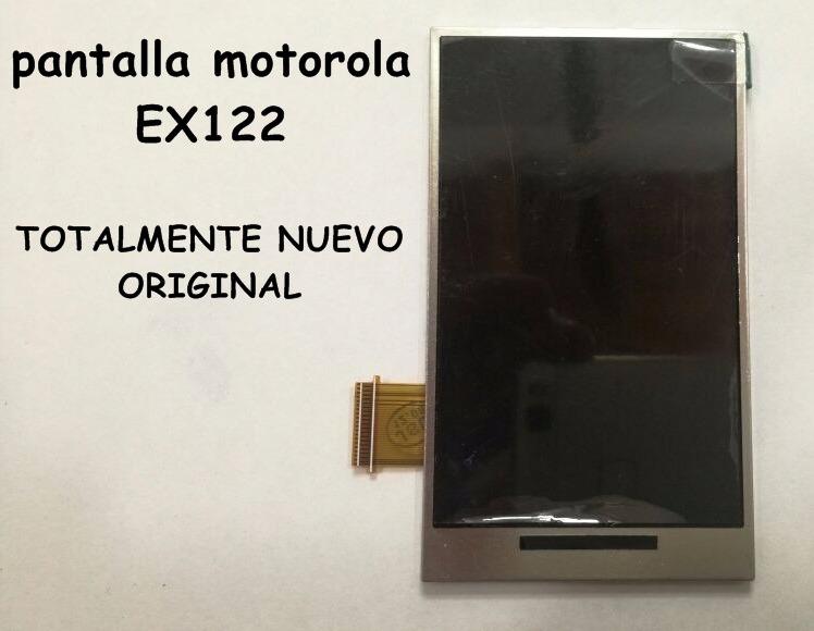 Pantalla Motorola Ex122 Original Y Nueva Al Mas Bajo Precio - Bs ... b5a5d476424bc