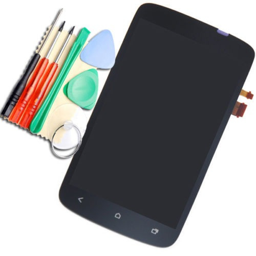 pantalla negra lcd touch screen  digitalizador para htc