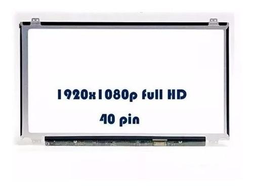 pantalla notebook 15,6  slim led 1920x1080p de 40 pins