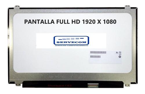 pantalla notebook hp envy 15 -1920x1080p full hd 15.6 40pin