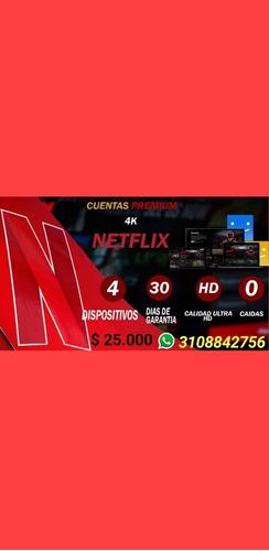 pantalla o cuentas netflix