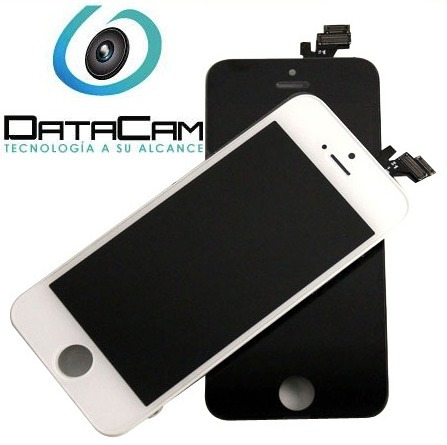pantalla original display lcd touch iphone 5s 5c 5 b&w