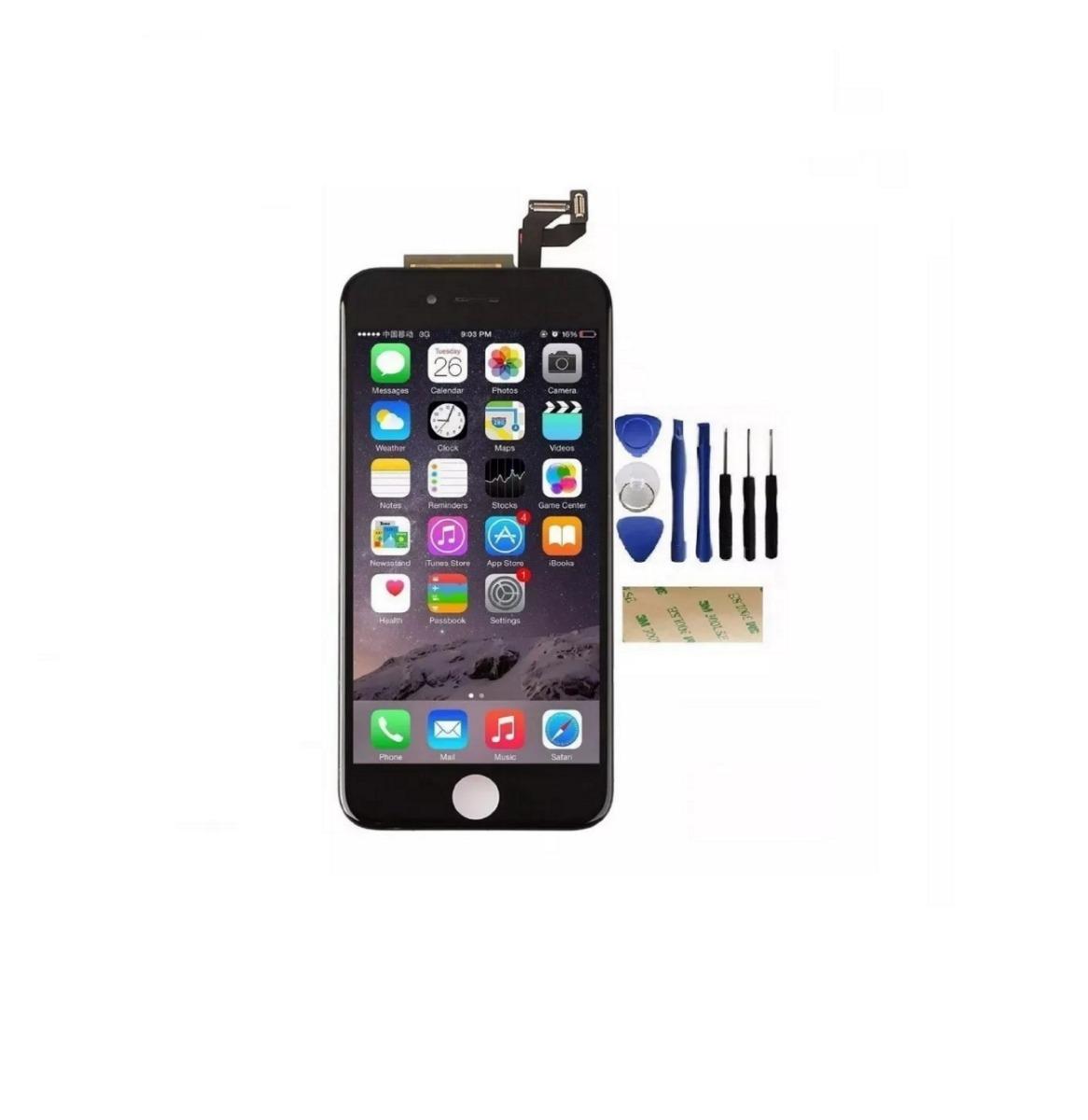 63114606c6e pantalla original iphone 6s 3d negro blanco a1688 a1633 1700. Cargando zoom.
