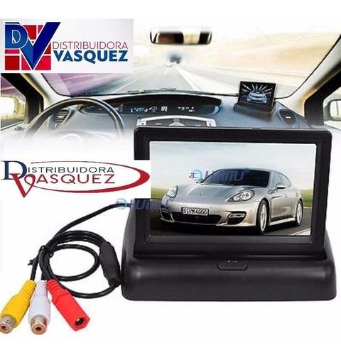 pantalla para camara de retro, dvd video para todo vehiculo