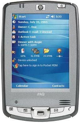 pantalla para ipaq hx2795b