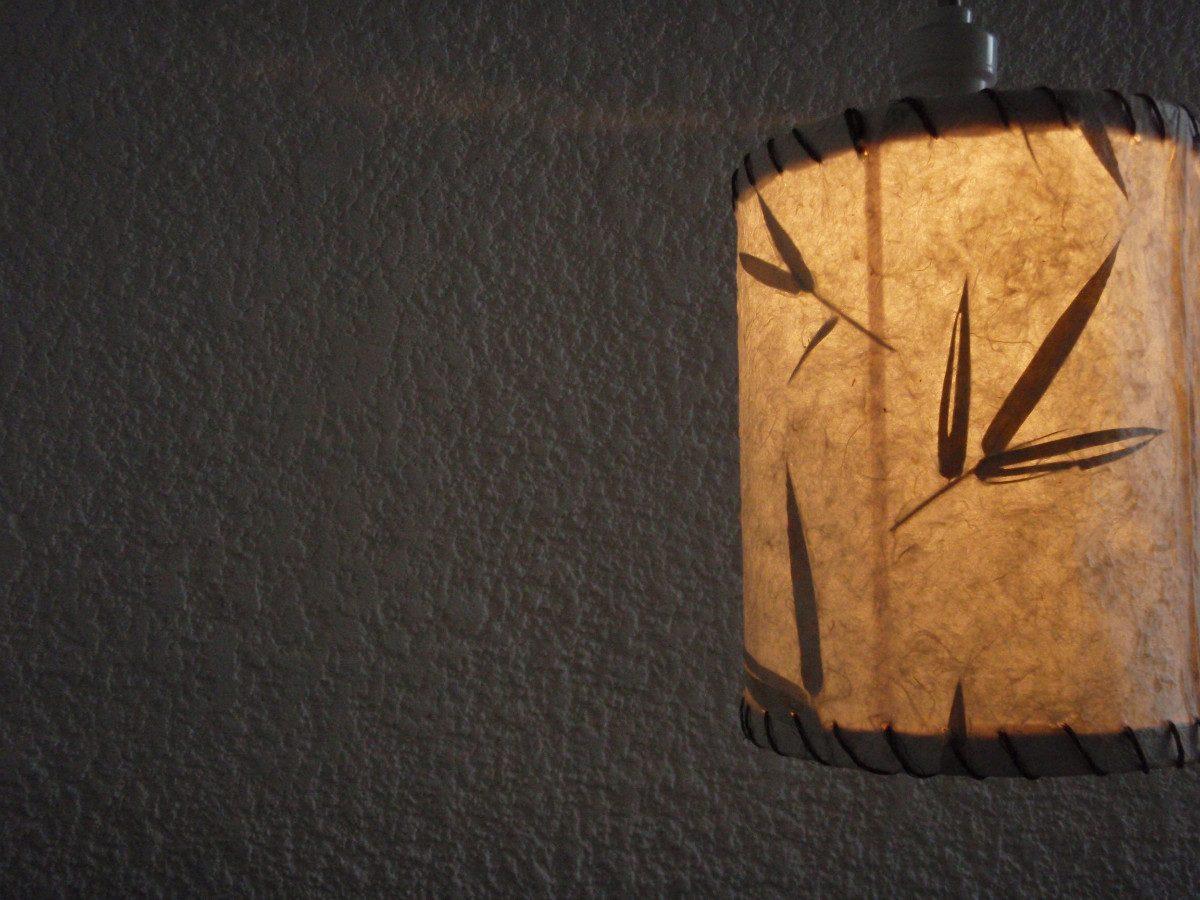 Pantalla para lampara de techo reciclable en - Pantalla lampara techo ...
