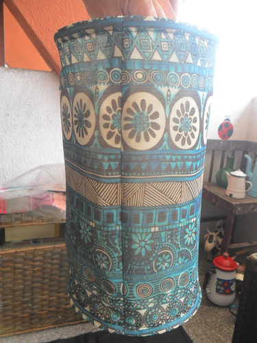 pantalla para lampara de tela hindú