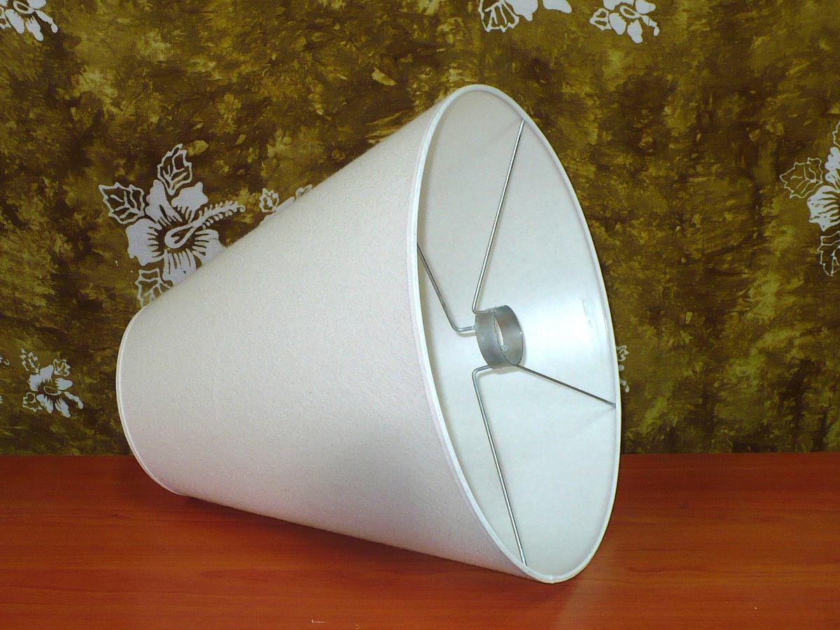 30 En Pantalla Lámpara Tela 15 Altura X 40 Para CmPor Cm KFcu13TlJ5