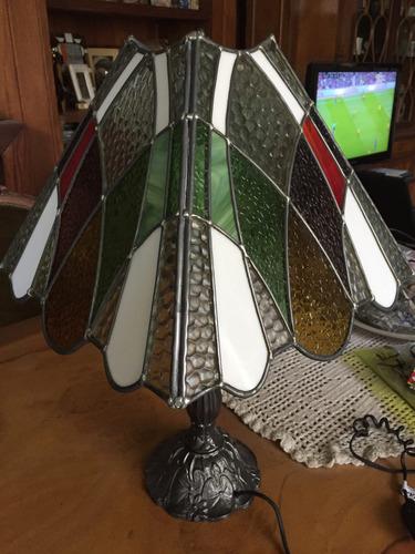 pantalla para lámpara vitral de mesa