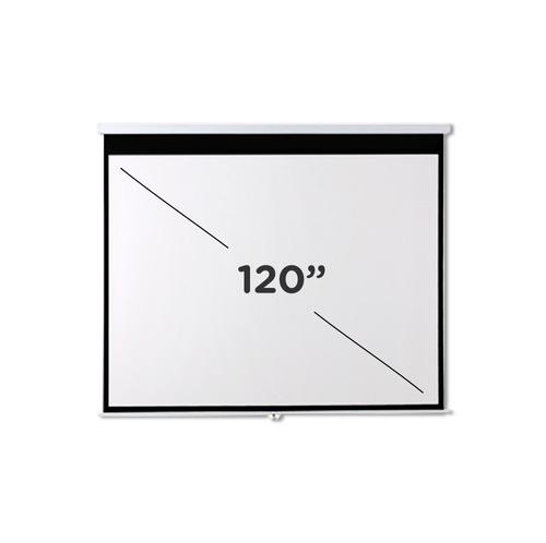 pantalla para proyector femmto 120 pulgadas manual tela lona