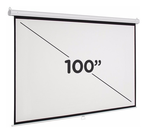 pantalla para proyector front 100 pulgadas proyeccion hd 3d