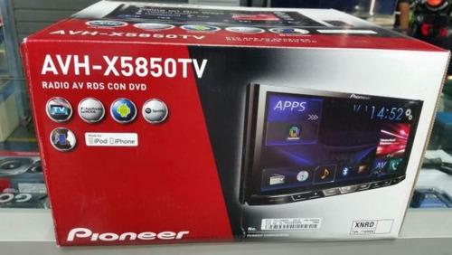pantalla pioneer avh-x5850tv tv+gratis parlante ,playsound