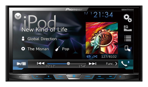 pantalla pioneer avh-x5850tv tv,bluetooth ,playsound