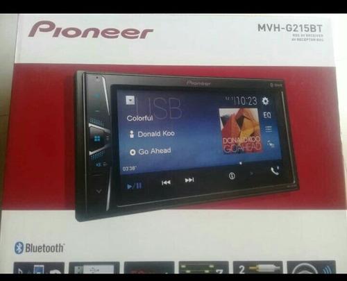 pantalla pioneer mvhg215bt no incluye cd nuevo modelo 2019