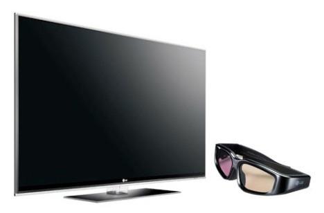 pantalla plasma hd, 3d, smar tv lg