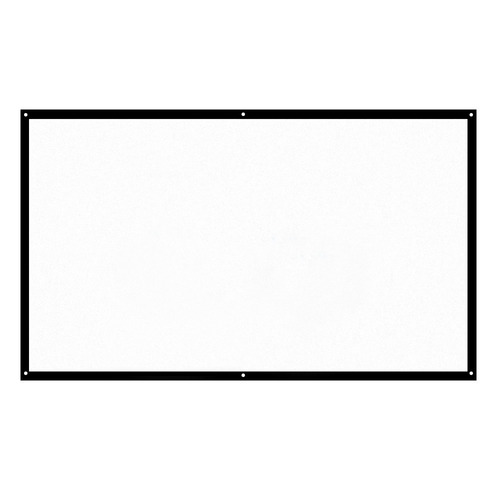 pantalla portátil para proyector h70 70 in hd 16:9 blanca