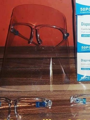 pantalla protectora visor lentes