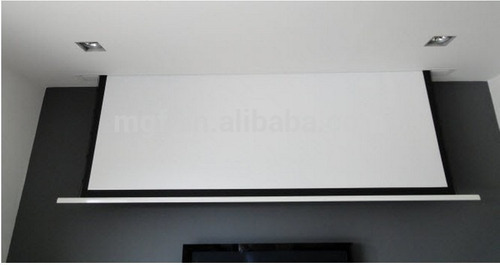 pantalla proyección electrica bretford usa p/ proyector
