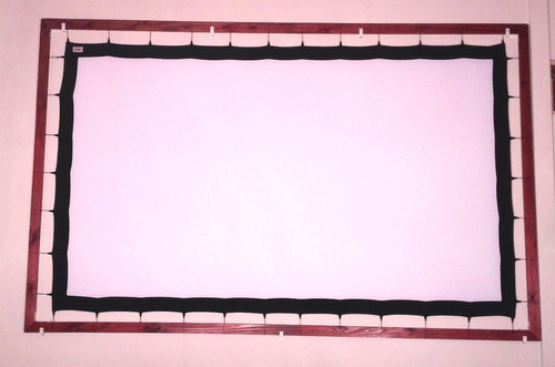 pantalla proyeccion gigante tela front-back 200 pulg 16:9