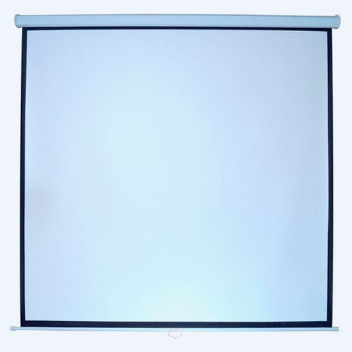 pantalla proyección multimedia screen 100 pulgadas retráctil