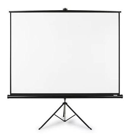 pantalla proyector con tripode 120 manual hd e-lighting ts-3