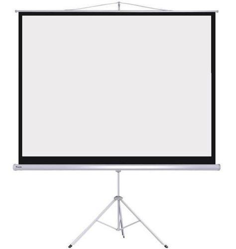 pantalla proyector desplegable 72 tripode 140 x105cm aprox