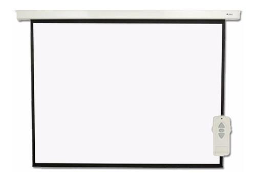 pantalla proyector electrica loch 120 pulgadas 4:3 + control