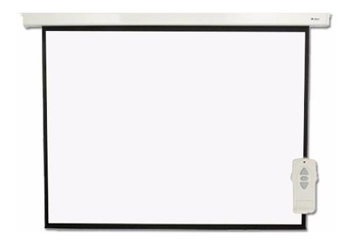 pantalla proyector electrica loch 84 pulgadas control remoto