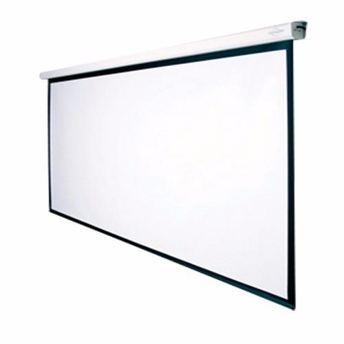 pantalla proyector electrica motorizada vidium ev107ws 16:9